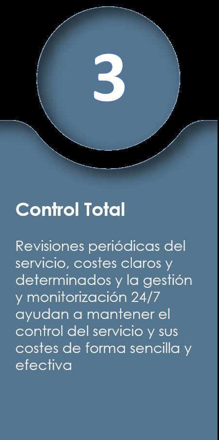 Control total Iaas
